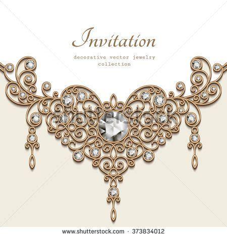 vintage background  elegant jewelry gold decoration
