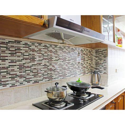 Fancyfix Vinyl Peel Stick Decorative Backsplash Kitchen