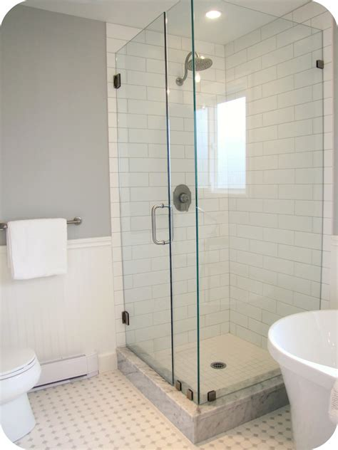 white subway tile bathroom ideas my house of giggles white and grey bathroom renovation