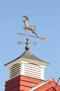 Weather vanes turning in the wind madisonbarns for Cupola with weathervane
