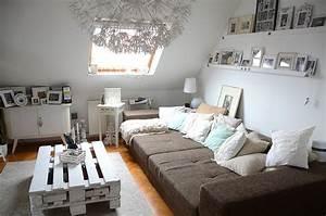 Shabby Look Wohnzimmer : shabby chic in gohlis unterm dach ~ Frokenaadalensverden.com Haus und Dekorationen