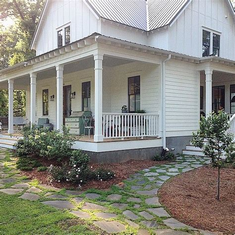 farm house porches porch on both sides of farm house rock walkways love outside the house pinterest rocks