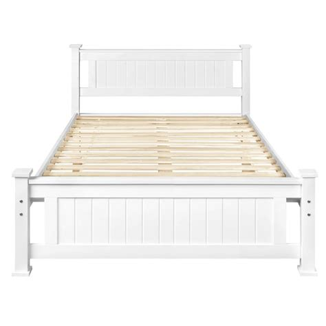 white wooden king size bed frame size solid pine wooden bed frame in white buy sale