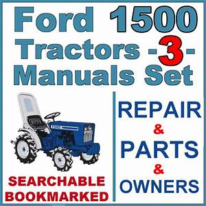 Ford 1500 Tractor Service  Parts  U0026 Operator Manual
