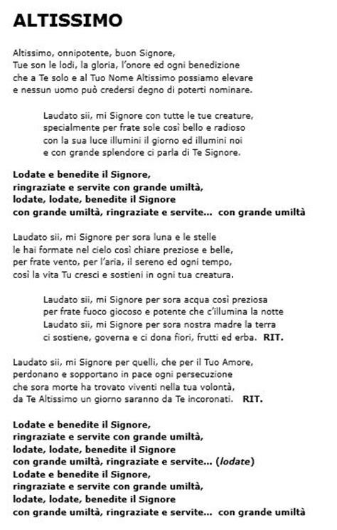 la tua canzone testo eleno testi canzoni 171 parrocchia di san lorenzo da brindisi