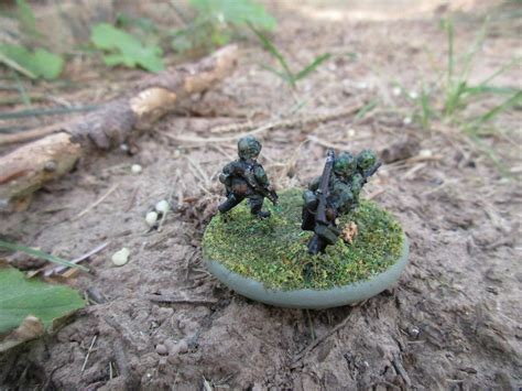 Sound Officers Call Waffen Ss Squad In 15mm