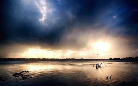 Photography Landscape Nature Estuaries River Dark
