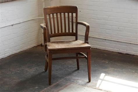 wh gunlocke chair co wayland 1920s solid oak office armchair by w h gunlocke chair co