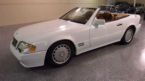 1992 Mercedesbenz 500sl 2dr Roadster Sold (#2179) Youtube