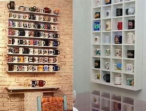 Mugs, Collection, Display