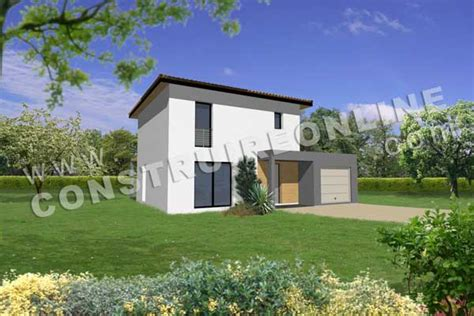 Plan De Maison Moderne Lucito