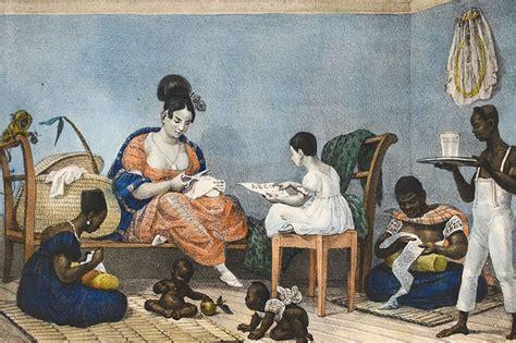 Naked woman white slave