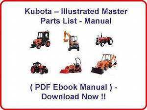 Kubota Bx24d Tractor Parts Manual