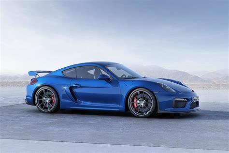 2016 Porsche Cayman Gt4 Blue The Fast Lane Car