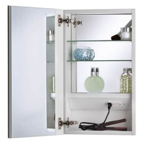 bathroom medicine cabinets with electrical outlet mirrored medicine cabinets with interior electrical outlet