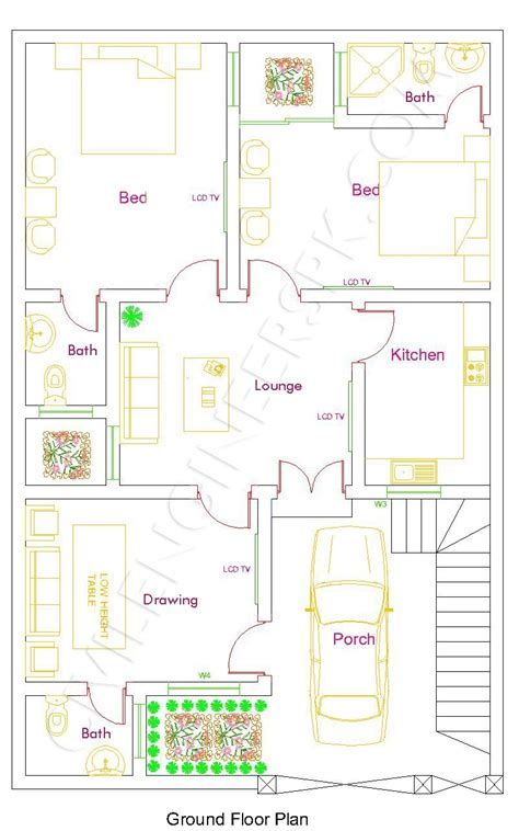 customized floor plans different house plans for different sizes aarz pk