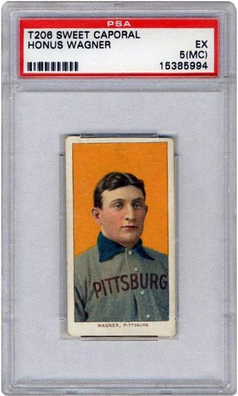 goldin auctions sells honus wagner  card   time