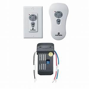 Hampton bay universal ceiling fan wireless wall control