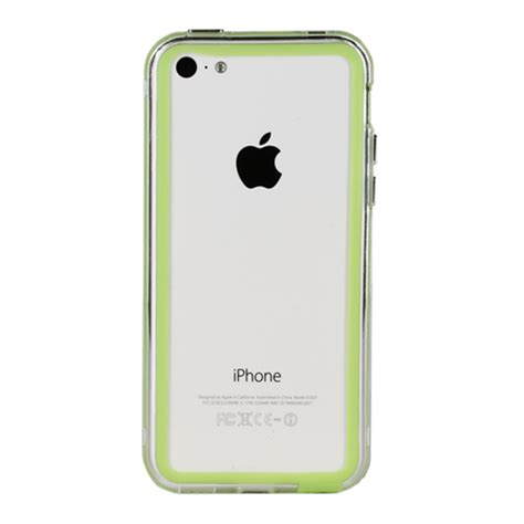 apple iphone 5c cases genx bumper for apple iphone 5c green