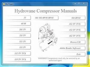 Hydrovane Service  U0026 Repair Parts    Workshop Manuals 501