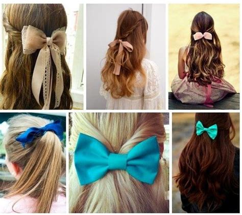 i love these really cute and easy hairstyles with bows