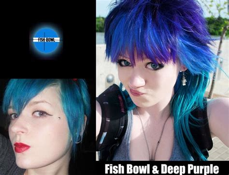 Fish Bowl Semi Permanent Hair Dye By Special Effects