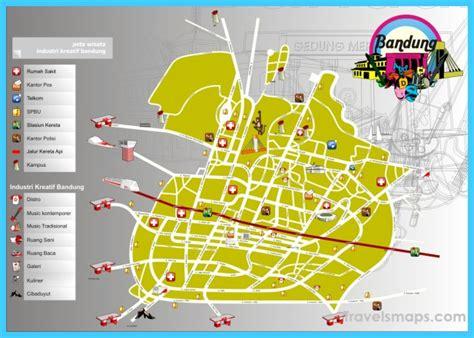 map  bandung travelsmapscom