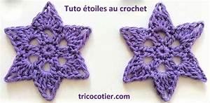 Tuto Sapin De Noel Au Crochet : faire des toiles de no l au crochet les tutos ~ Farleysfitness.com Idées de Décoration