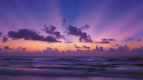 sunset clouds landscapes nature texas national park
