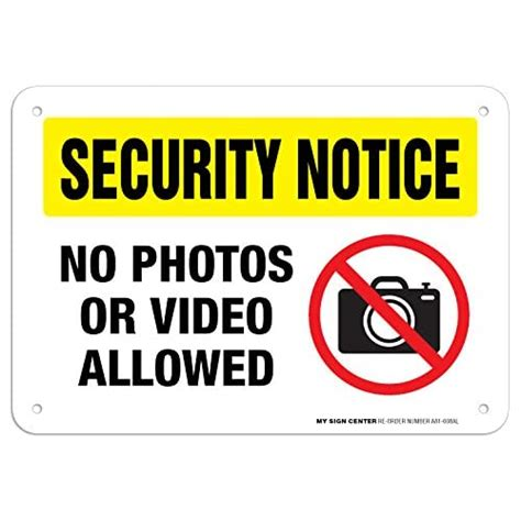 Prohibited Signs: Amazon.com