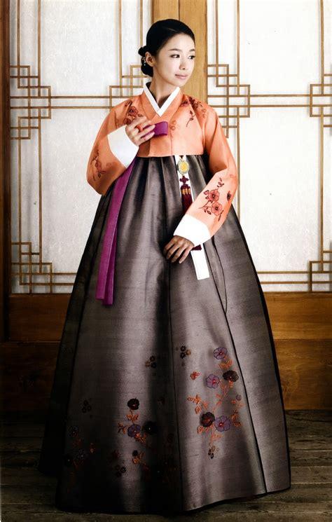 hanbok modern baju korea korean traditional dress style for wedding 2