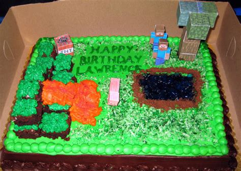 how to decorate a minecraft cake deborah does navel gazing preferably with a decaf mocha