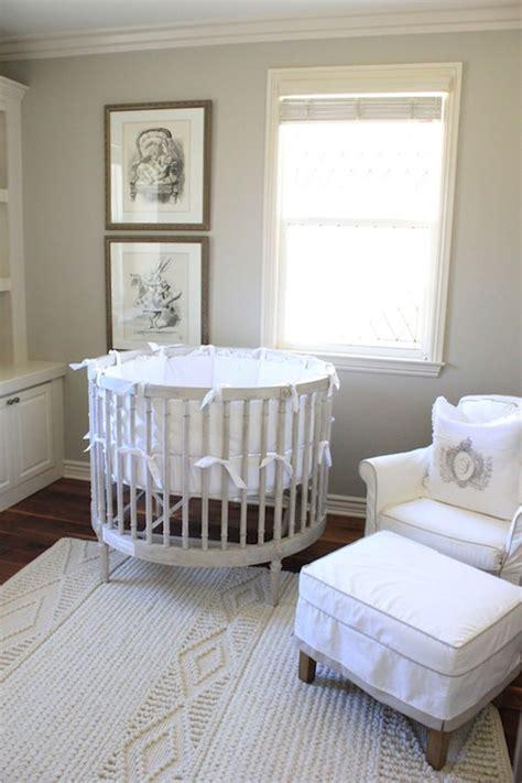 gray  crib french nursery belmont design group