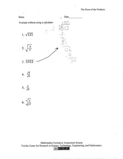 uncategorized square root worksheet klimttreeoflife