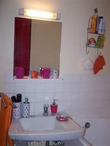 Salle De Bain Orange : salle de bains rose et orange photo 4 7 3512822 ~ Preciouscoupons.com Idées de Décoration