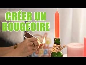 Customiser Une Bouteille De Vin : cr er soi m me un bougeoir avec une bouteille diy avec ~ Zukunftsfamilie.com Idées de Décoration