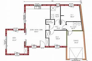plan maison etage 3 chambres gratuit modern aatl With nice plan maison demi etage 0 plan maison 2 etages moderne