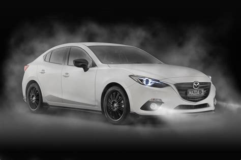 mazda cars news mazda introduces kuroi sports pack