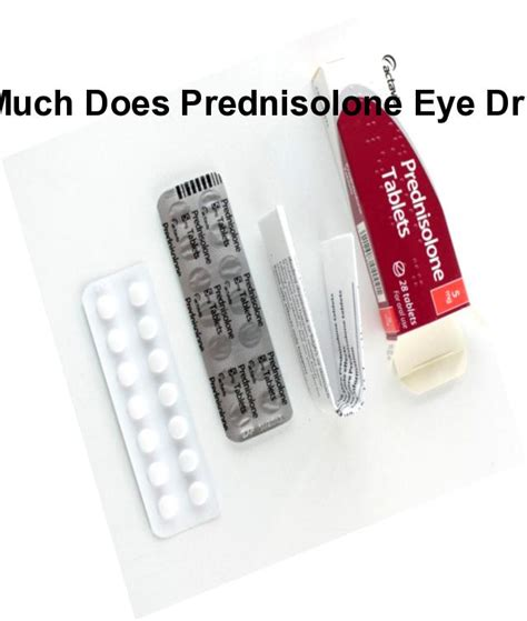 How much does prednisolone eye drops cost, how much does ...