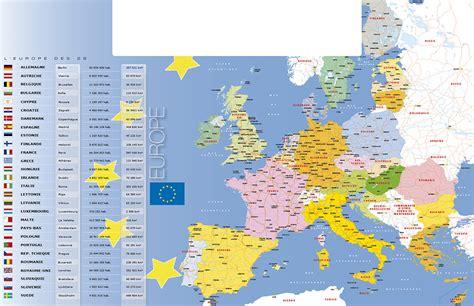 Carte Routière De L Europe 2017 by Carte Europe 2017 Imvt
