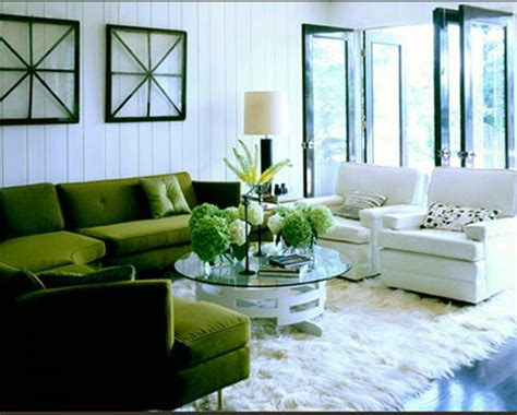 green sofa living room home office designs living room colors green