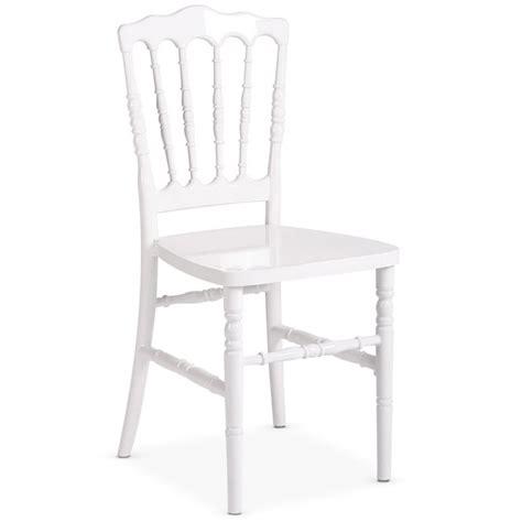 chaise napoleon blanche location chaise napoleon blanche fixe