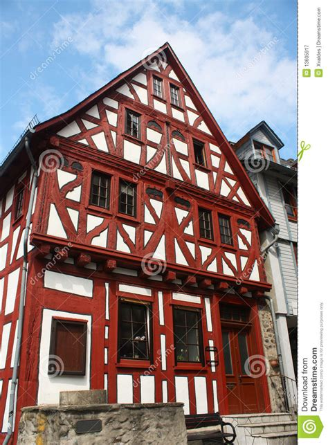 house  germany stock image image  town nice