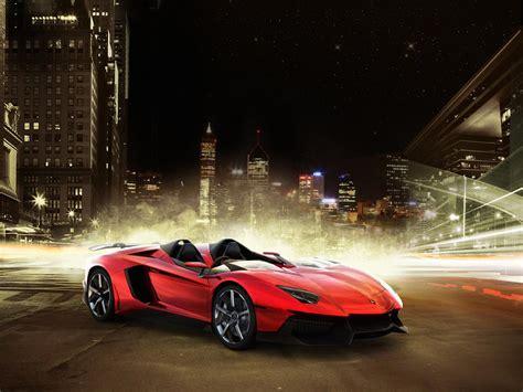 Fondo Escritorio Lamborghini Aventador J Red