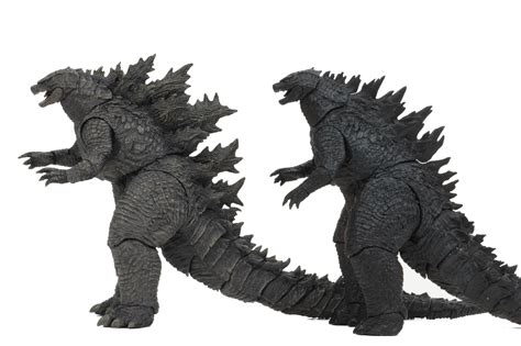 Neca Godzilla King Of The Monsters Side-by-side Comparison