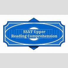 Ssat Upper Reading Comprehension Study Guide Youtube