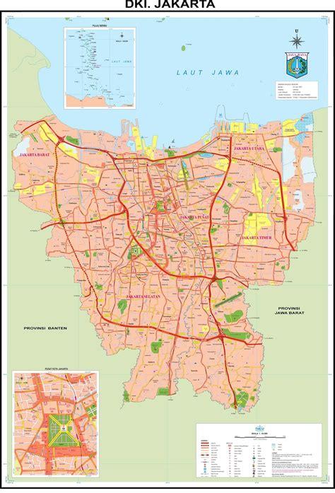 peta kota jakarta raya