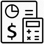 Accounting Icon Management Financial Bookkeeping Report Icons