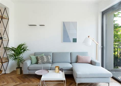 Modern Apartment Sofa by White Color Theme Modern Apartment Decorating Ideas For