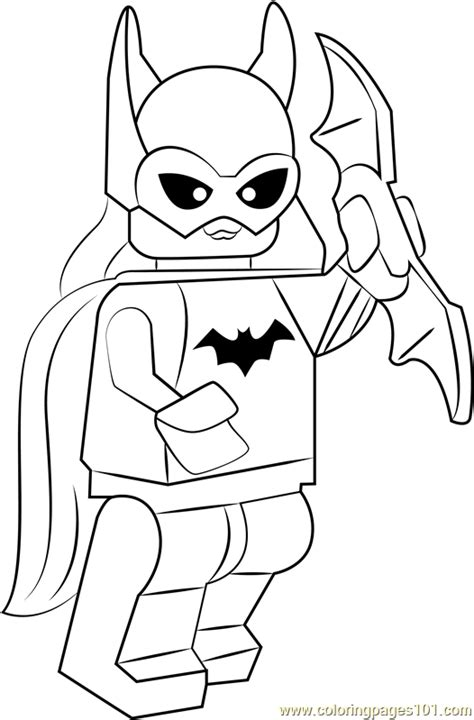 lego batgirl coloring page  lego coloring pages coloringpagescom